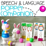 Speech & Language Popper Companion: BUNNY