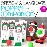 Speech & Language Popper Companion: CHRISTMAS
