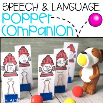 Speech & Language Popper Companion: DOG