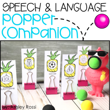 Speech & Language Popper Companion: FLAMINGO