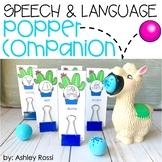 Speech Therapy Ball Popper Companion: LLAMA