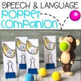 Speech & Language Popper Companion: MONKEY