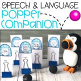 Speech & Language Popper Companion: Penguin