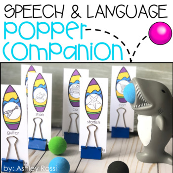 Speech & Language Popper Companion: SHARK