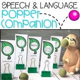 Speech & Language Popper Companion: SLOTH