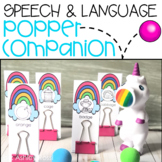 Speech & Language Popper Companion: UNICORN