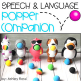 Speech & Language Popper Companions: BUNDLED