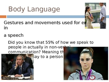 Speech Language Presentation