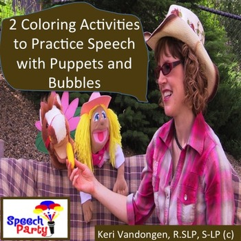 Fun Printable Activity for Practicing Speech Skills