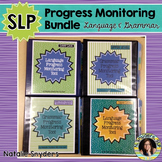 Speech-Language Progress Monitoring Bundle for Grammar & Language
