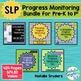 Speech-Language Progress Monitoring Tool Bundle for Pre-K to 1st Grade