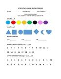 Speech/Language Quick Screener