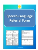 Speech-Language (SLP) Referral form