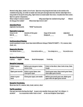 Speech-Language Screen for SNF/Hospital