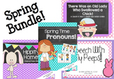 Speech & Language Spring Bundle!