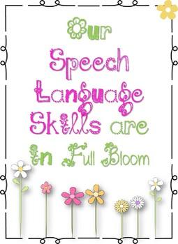 Speech Language Spring Sign
