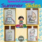 Speech/Language Summer Slides for Articulation and Vocabulary