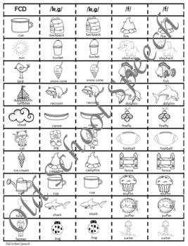 Speech/Language Summer Slides for Articulation and Vocabulary