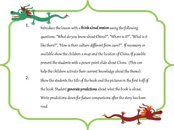 """Speech-Language Supplement to the book """"Eyes of the Dragon"""""""