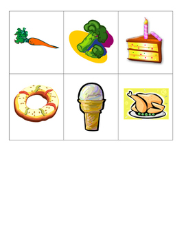 Speech/Language Therapy Category Cards