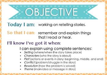 Speech-Language Therapy Objective Binder {ORANGE VERSION}
