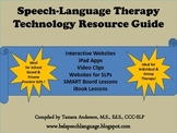 Speech Language Therapy Technology Resource Guide