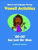 Speech Language Therapy - Vowel Activities