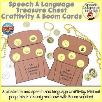 Speech & Language Treasure Chest Craftivity