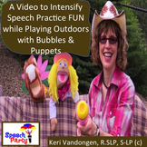 Engaging Video to Practice Speech Language Skills & Communication