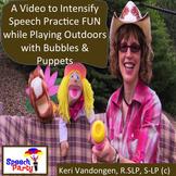 Engaging Video to Practice Speech Language Skills & Communication