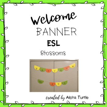 ESL Welcome Sign