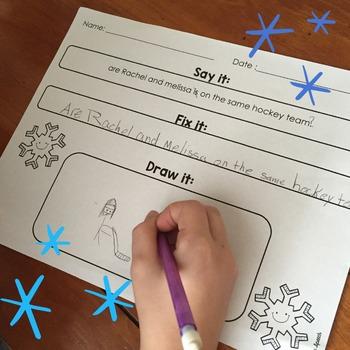 Speech & Language Winter Bundle