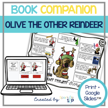 Speech Language and Literacy Olive the Other Reindeer Book Companion