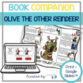 Olive the Other Reindeer Book Companion:  Speech and Language Therapy Activities