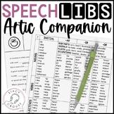 Speech Libs Companion Activity Articulation Game