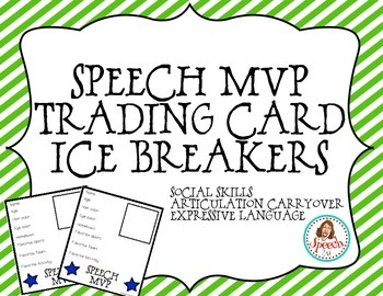 Speech MVP trading cards: FREEBIE