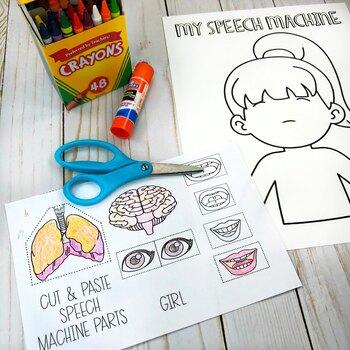 Speech Machine Visuals, Teaching Tools & Crafts