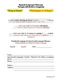 Speech Mandate Form (English/Spanish)
