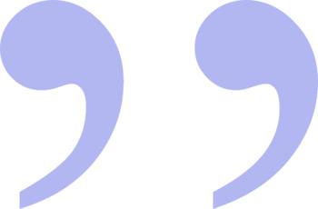 Speech Marks/Inverted Commas