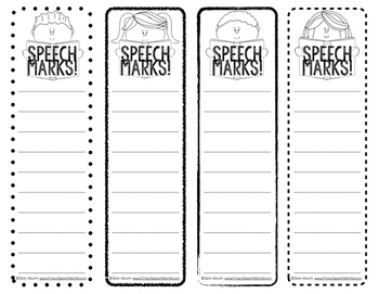 Articulation Bookmarks for Speech and Language Therapy