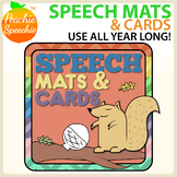 #FebSLPMustHave Speech Mats and Cards (Great for  play dou