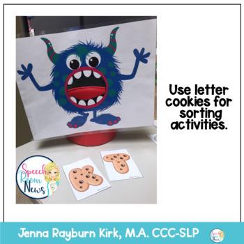 Speech Monsters: Articulation Sort, Craft, & Activity