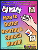 Speech Month Mini Posters!  Free From Don D'Amore TpT!