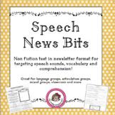 """Speech News Bits"" - Nonfiction articles"