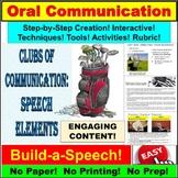 Public Speaking Like a Pro: Interactive Speech PowerPoint