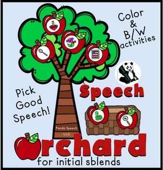 Speech Orchards for initial sblends