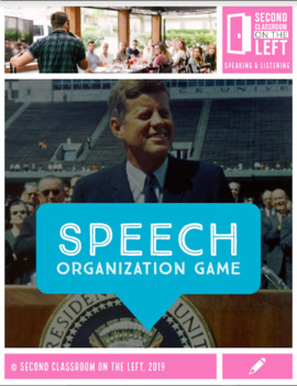 Speech Organization Game