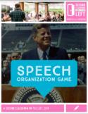 Speech Organization Game