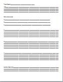 Speech Outline Form