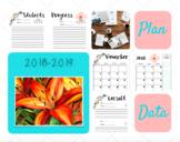 Speech Pathologist - 2018-2019 School Planner
